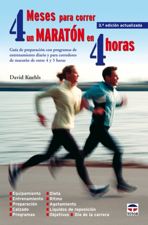 4 meses para correr un maratón en 4 horas – ISBN 978-84-7902-676-9. Ediciones Tutor