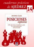 Cuadernos prácticos de ajedrez 14. Posiciones explosivas – ISBN 978-84-7902-908-1. Ediciones Tutor