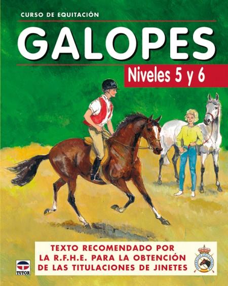 Curso de equitación. Galopes niveles 5 y 6 – ISBN 978-84-7902-562-5. Ediciones Tutor