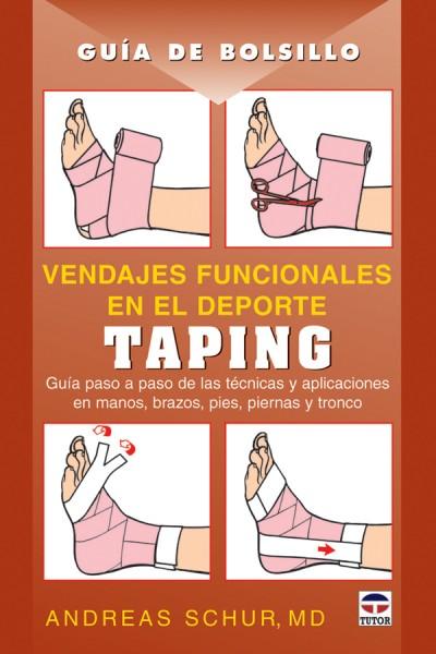 Vendajes funcionales en el deporte. Taping – ISBN 978-84-7902-694-3. Ediciones Tutor