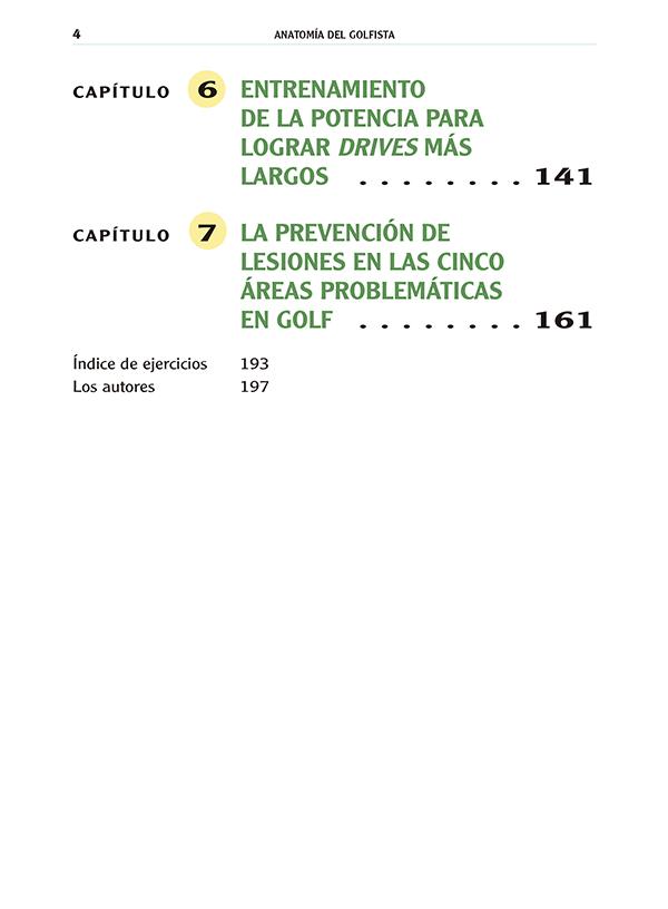 Anatomía del golfista | Ediciones Tutor