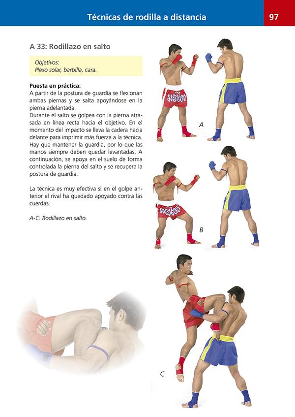 Manual básico de boxeo tailandés muay thai | Ediciones Tutor