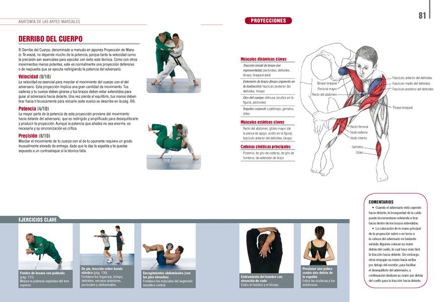 Anatomía de las artes marciales | Ediciones Tutor