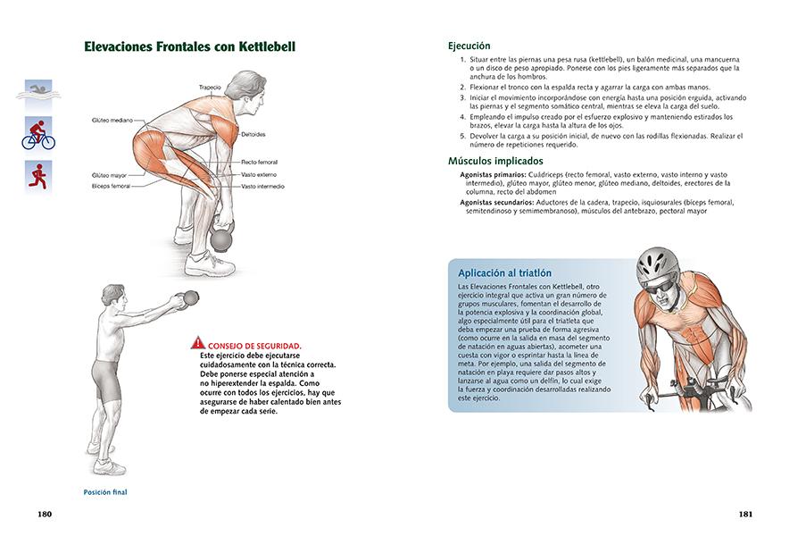 Anatomía del triatleta | Ediciones Tutor