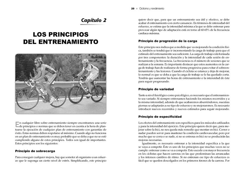 ciclismo y rendimiento ediciones tutor