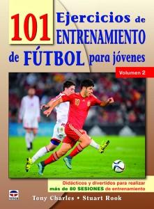PORTADA 101 EJERCICIOS ENTRENAMIENTO FUTBOL JOVENES VOL.-2.indd