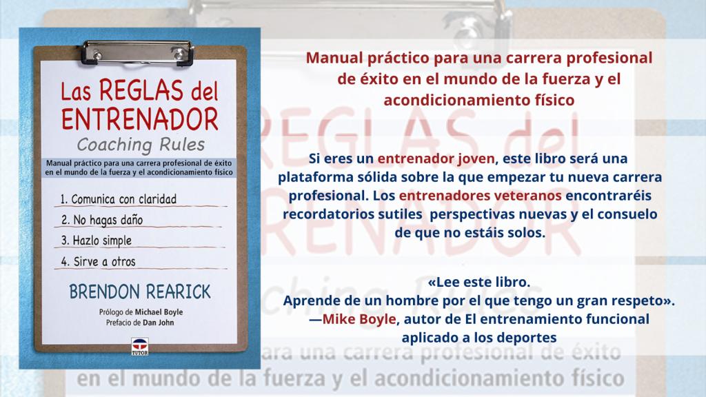 Manual práctico para una carrera profesional de éxito en el mundo de la fuerza y el acondicionamiento físico